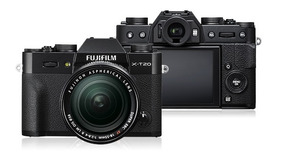 Câmera Fujifilm X-t20 + Lente Fuji 18-55mm 2.8-4