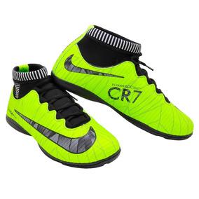 Chuteia Cr7 Futebol De Salão Quadra Futsal Envio Imediato
