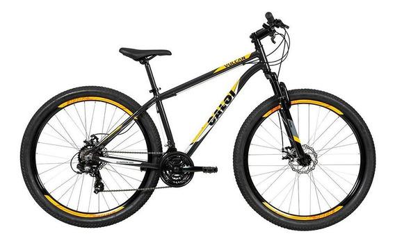 Biclicleta Mountain Bike Caloi Vulcan Aro 29 - Cinza