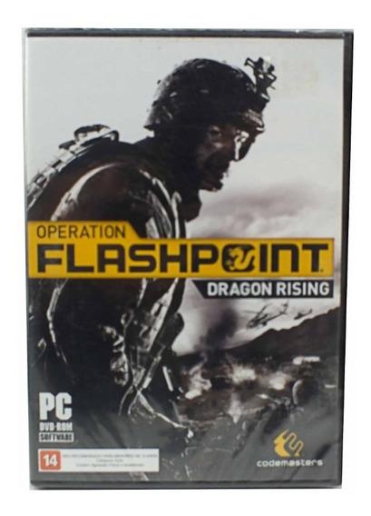Jogo Para Pc Operation Flashpoint Dragon Rising A6507