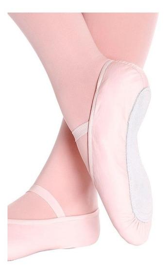 Sapatilha Ballet Só Dança Meia Ponta Napa F22b Adulto 33-45