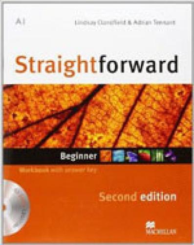 Imagem 1 de 1 de Straightforward - Beginner - Workbook With Audio Cd + Key