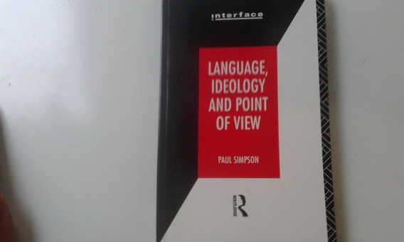 Livro - Language Ideology And Point Of View - Paul Simpson