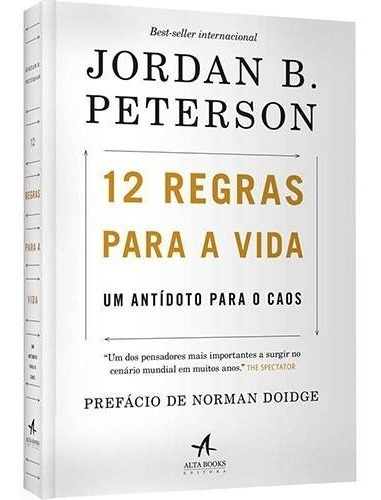 Livro - 12 Regras Para A Vida Jordan Peterson Envio 13,00