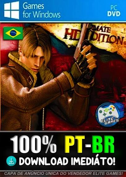 Resident Evil 4 Ultimate Hd Edition Pc Midia Digital!
