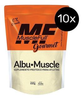 Combo - 10x Albu-muscle 450g - Musclefull
