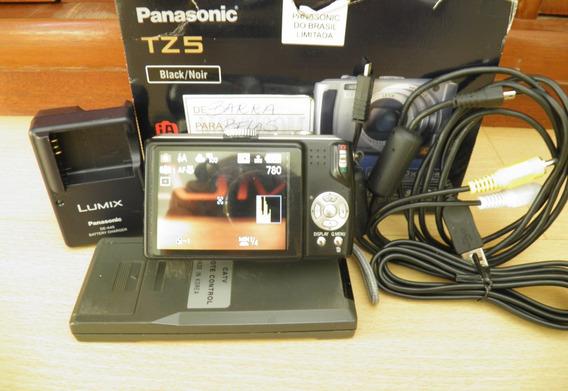 Câmera Panasonic Lumix Dmc-tz5 Como Nova