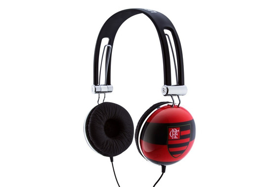 Headphone Waldman Iteam Flamengo