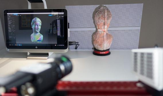 Digitalizador Scanner 3d David Sls-3 Profissional