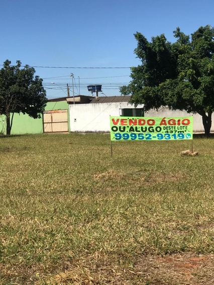 Lote : Vendo Ágio Ou Alugo Lote No Recanto Das Emas Qd. 605