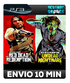 Red Dead Redemption And Undead Nightmare Collection Psn Ps3
