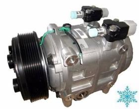 Compressor Ar Condicionado Tm31 Onibus Polia 8pk 24volts