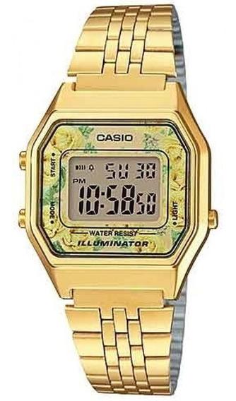 Relógio Casio Feminino La680wga-9cdf Vintage C Garantia E Nf