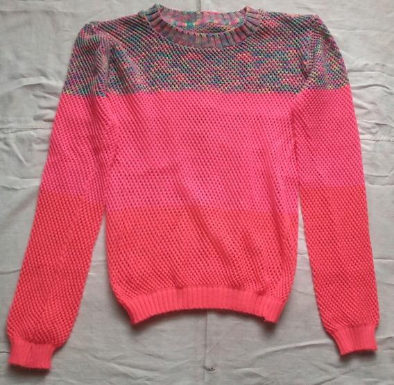 Suéter De Hilo Multicolor