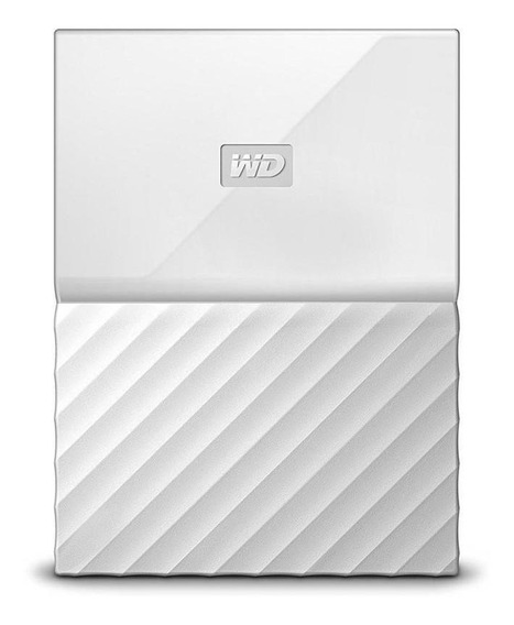 Hd Externo 1tb 2.5 Wd My Passport Usb 3.0 Branco
