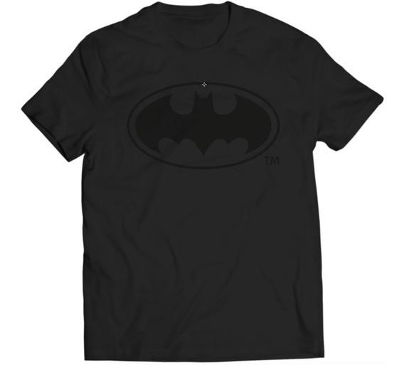 Xperma Playera Hombre Batman Logo Black