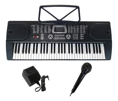 Teclado Organo Koler Kk-60 5/8 Con Microfono - Oddity