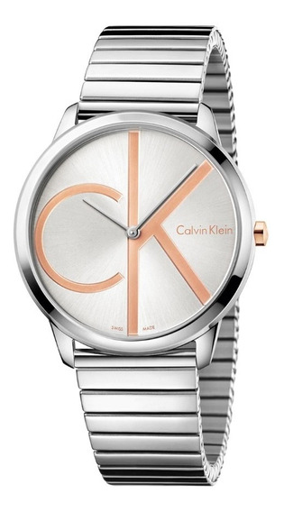 Reloj Calvin Klein K3m21bz6, Unisex, Soy Mercado Líder Gold