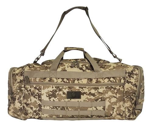 Maletin Viajero Militar Camuflado 60 Litros
