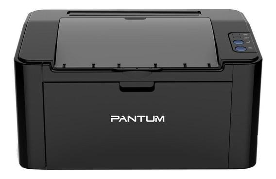 Impressora Pantum P2500W com Wi-Fi 100V - 127V preta