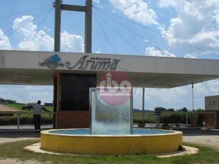 Terreno Residencial À Venda, Condomínio Chácaras Arumã, Sarapuí. - Te0467