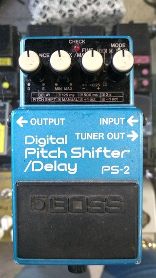 Boss Ps-2 Made In Japan (delay, Pitch Shifter)