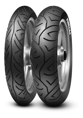 Par Pneu Pirelli Sport Demon Honda Cbx 250 Twister 100 + 130
