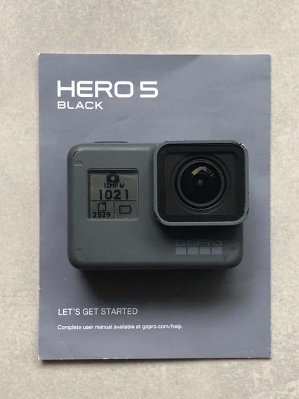Gopro Hero 5 Black Com Case