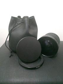 Kit Angular Fisheye Lens 0.21x + Anel Adaptador 72-58mm