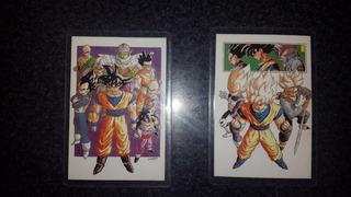 Cartas Plastificadas Dragonball Z - Rami-cards - Envios!