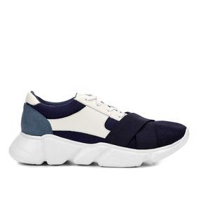 Tênis Chunky Couro Com Neopreme Shoestock