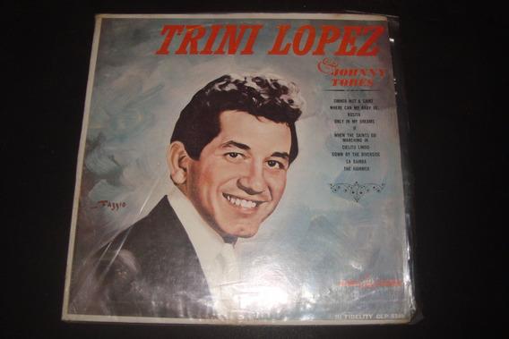 Trini Lopez & Johnny Tores, Lp Importado, Sinner Not A Saint
