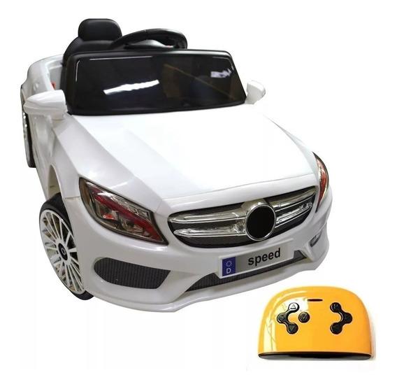 Carrinho Elétrico Infantil Com Controle Remoto Mercedez Benz