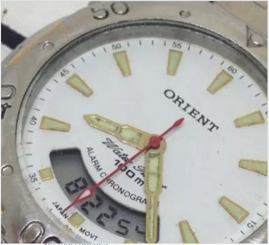 Relógio De Pulso Orient 100m Masculino T09459 Webclock