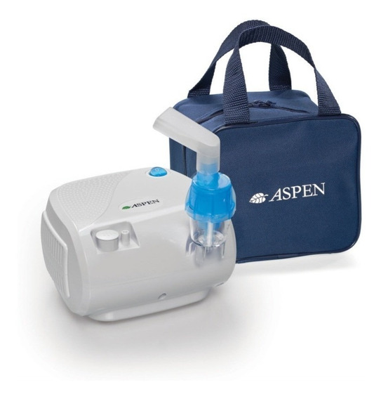 Nebulizador Aspen A Pistón Compacto Bajo Ruido C/bolso
