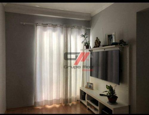 Imagem 1 de 10 de Apartamento Com 3 Dormitórios À Venda, 73 M² Por R$ 218.000,00 - Jardim Santa Clara - Taubaté/sp - Ap0489