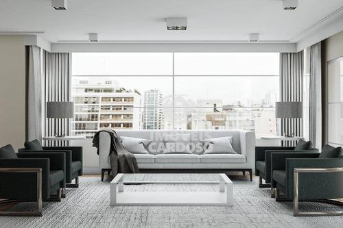 Imagem 1 de 9 de Apartamento Com 3 Dormitórios À Venda, 210 M² Por R$ 2.735.000 - Higienópolis - São Paulo/sp - Ap3421