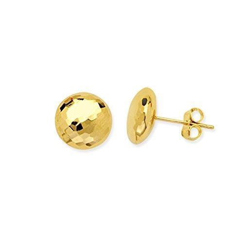 Pendientes De Las Niñas Tm020935-14y Diamondjewelryny