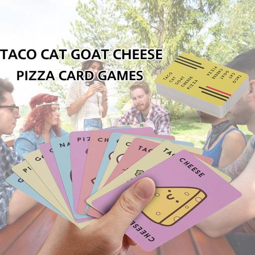 Taco Gato Cabra Queso Pizza Juegos De Cartas 10 Minutos Fast