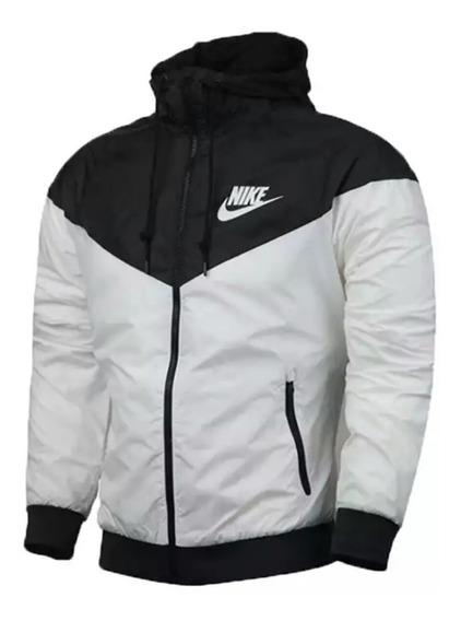 Jaqueta Corta Vento Nike Preta Masculina Impermeável