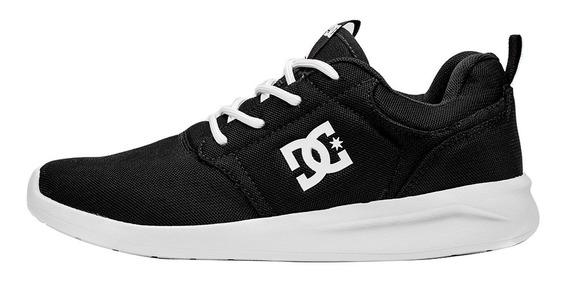 Tênis Dc Shoes Midway Preto / Branco