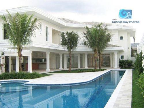 Imagem 1 de 30 de Jardim Acapulco Casa A Venda Condomínio Jardim Acapulco - Praia De Pernambuco - Guarujá - Ca1800