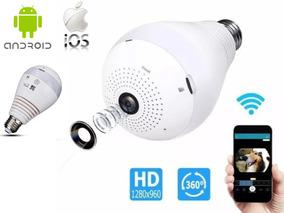 Camera Espia Lampada 360° Iphone Android + Brinde Surpresa