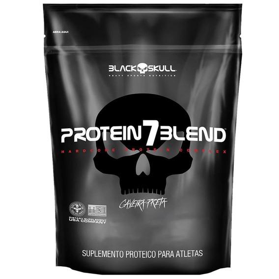 Protein 7 Blend 1.8kg - Black Skull - Isolado, Hidrol. E Wpc
