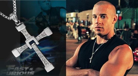 Cordão Crucifixo Cruz - Dominic Toretto - Vin Diesel