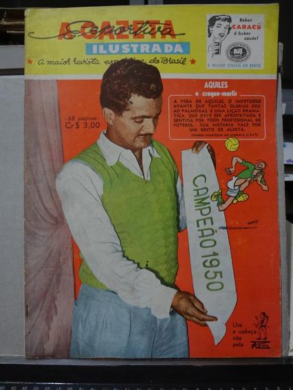 Jornal A Gazeta Esportiva Ilustrada Nº 42 1955 Aquiles