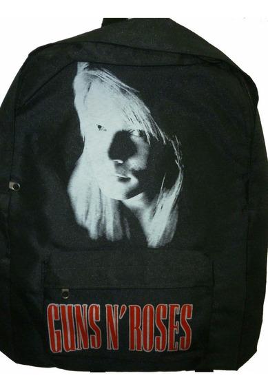 Mochila De Axl Rose Guns N Roses Gnr Rockería Que Sea Rock