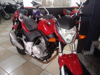 Honda Cb 300r Abs Vermelha 2010