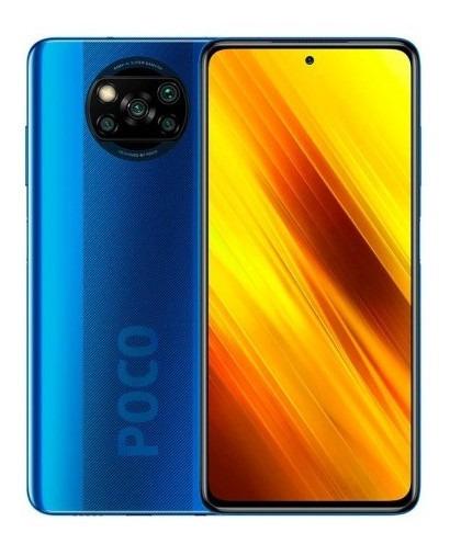 Teléfono Xiaomi Poco X3 6gb Ram 128gb Rom  Azul