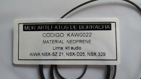 Kit Correias Som Aiwa Nsx-sz21 /nsx-d25 / Nsx 329